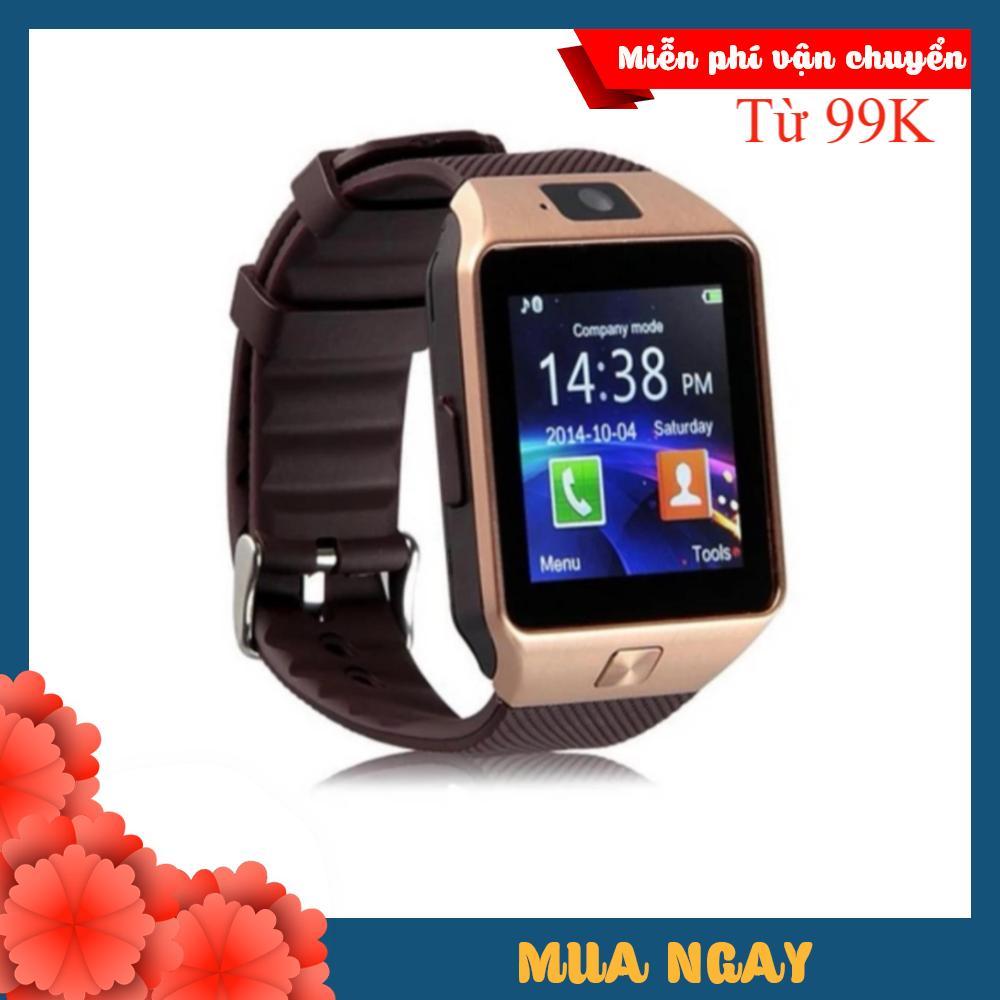 Đồng hồ thông minh  Smart watch DZ09 (Vàng)