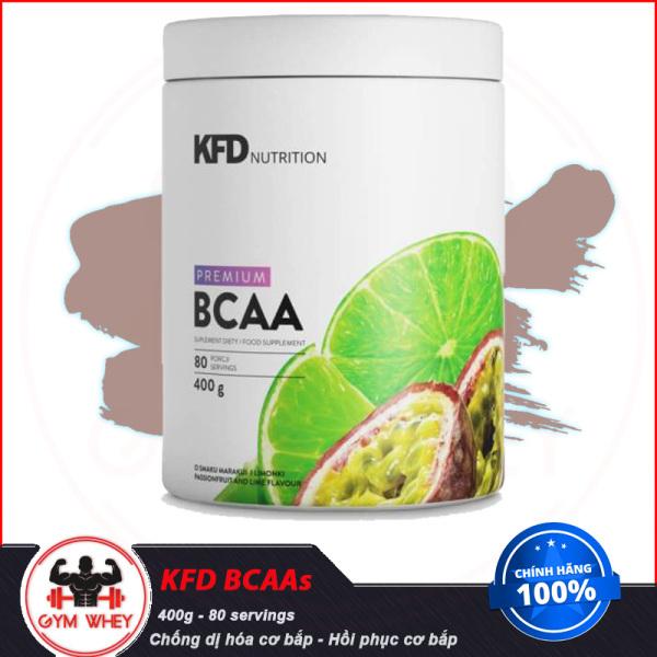 Thực Phẩm Bổ Sung Giúp Hồi Phục Cơ Bắp Tăng Sức Bền Chống Dị Hóa Cơ Bắp KFD NUTRITION PREMIUM BCAAs 400g (80 servings) giá rẻ