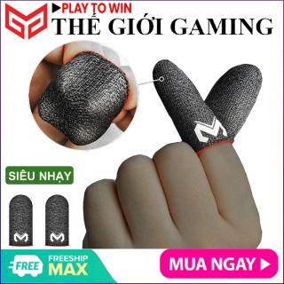 Bao tay chơi gane điện thoại MEMO GT2 (Bản cao cấp) siêu mỏng cảm giác thật, logo nổi, vải sợi carbon siêu bền chống giãn xù tăng cường cảm ứng chạm, chống mồ hôi dành cho game PUBG Tốc Chiến Freefire Liên Quân mobile thumbnail