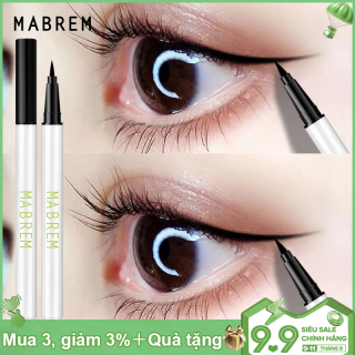 MABREM Đẹp Mắt Sâu lỏng Eyeliner Mịn Phát triển Màu nhanh khô lâu dài lỏng Eye Liner Bút Chì trang điểm thẩm mỹ Beauty Công cụ thumbnail