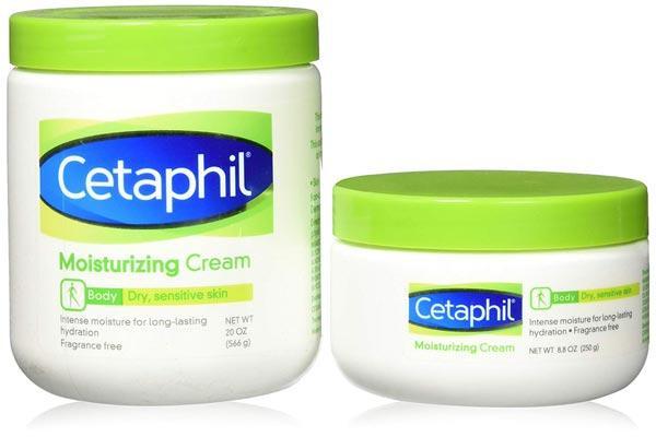 Set 2 kem dưỡng ẩm Cetaphil Moisturizing Cream 566g và 250g