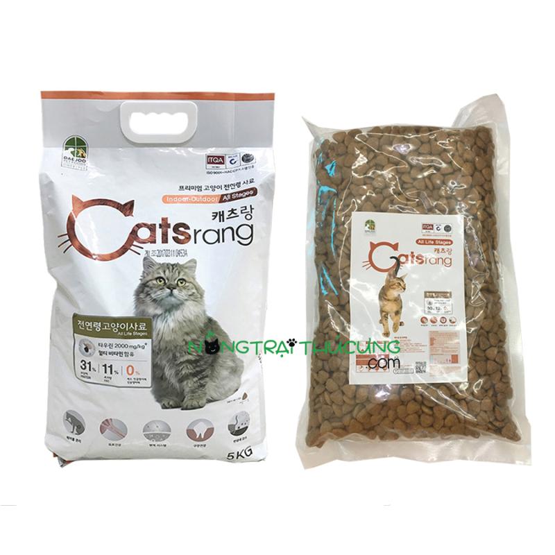 Thức ăn hạt cho Mèo mọi lứa tuổi Hàn Quốc CATSRANG - Gói chiết - [Nông Trại Thú Cưng]