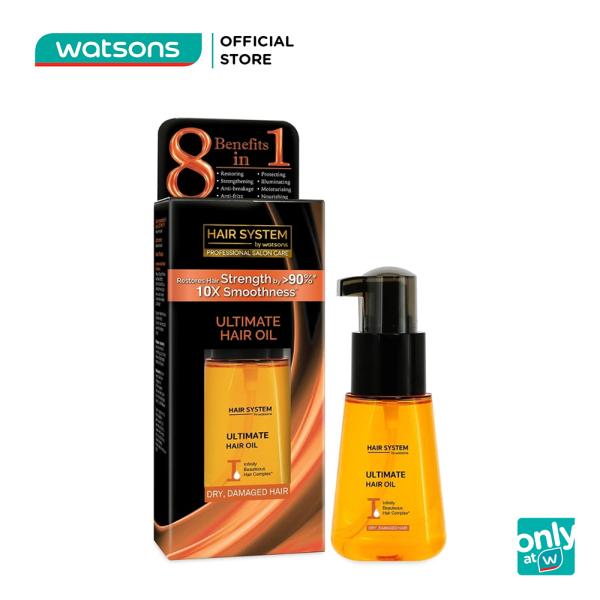 Dầu Dưỡng Tóc Hair System By Watsons 70ml (Cho Tóc Khô Và Hư Tổn) giá rẻ