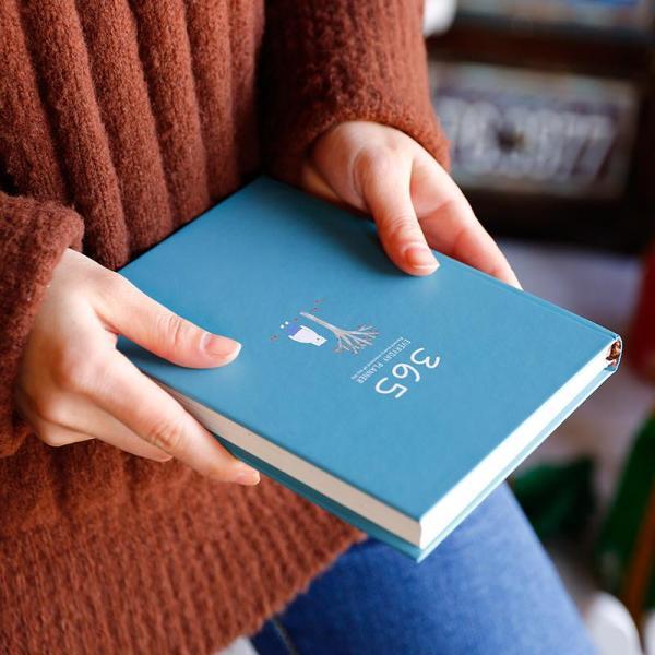 Mua Sổ kế hoạch nhật ký 365 ngày Everyday Planner tiện dụng & TALACA 2425