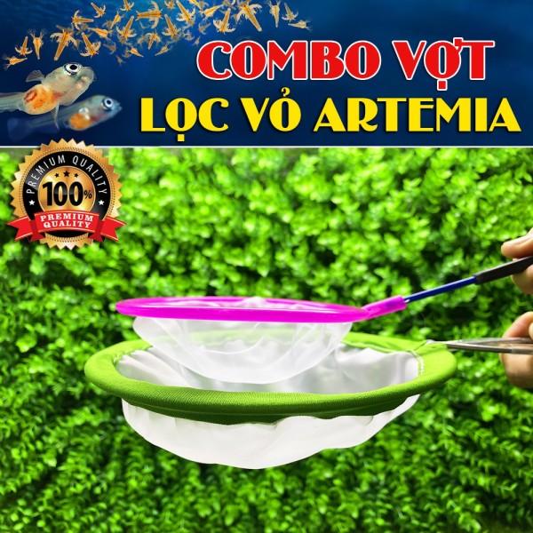 Combo Vợt Lọc Vỏ Trứng Artemia - BETTA COFFY - XEM KĨ PHÂN LOẠI