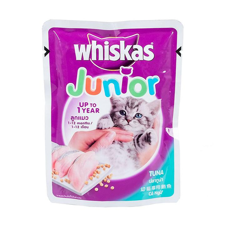 Whiskas Junior 85g Pate Cho Mèo Con Vị Cá Ngừ Đang Ưu Đãi Cực Đã