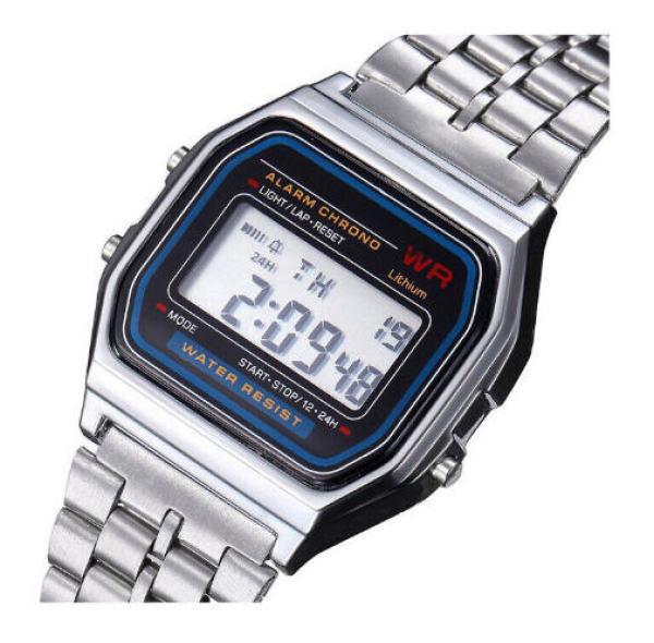Đồng hồ điện tử nữ dây thép TimeZone WR