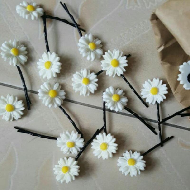 set 3 kẹp hoa cúc giá rẻ
