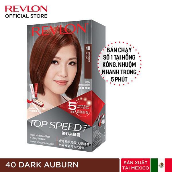 Nhuộm tóc phủ bạc Revlon TopSpeed dành cho nữ