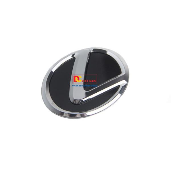 Logo biểu tượng vô lăng xe ô tô Le.xus, đường kính 64mm (Màu Đen)