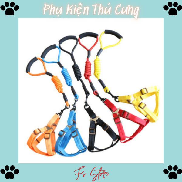 Dây Dắt Chó, Dây dắt dành cho chó mèo, dây dắt + yếm ngực, đai ngực, D11