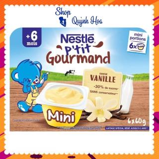 Váng sữa Nestle 6 tháng vị vani, 6x60g (Mã 478215) thumbnail