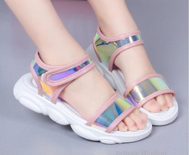 Sandal cho be yêu phong cách hàn quốc - SD48 ĐEN giá rẻ