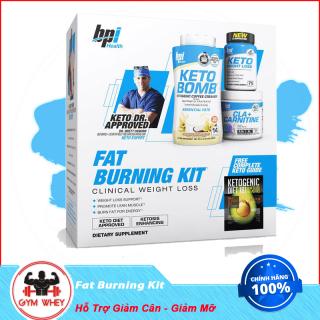 Bộ Sản Phẩm Hỗ Trợ Giảm Cân Giảm Mỡ Bpi Sport Fat Burning Kit Gồm Keto Bomb, Keto Weight Loss Và Cla + Carnitine thumbnail