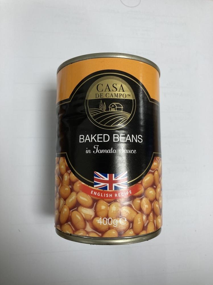 Đậu sốt cà Banked Beans - Casa De CamPo  400g/lon của Ý HSD 05/2023