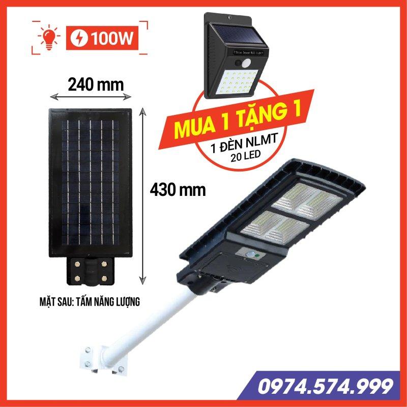 Đèn năng lượng mặt trời liền thể công suất 50 - 100 - 150 W, Đèn đường năng lượng mặt trời 50 - 100 - 150 W