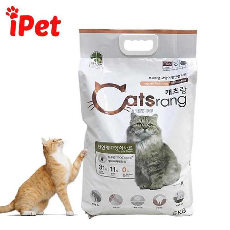 Thức Ăn Hạt Cho Mèo CatsRang 1kg , 500 Gram - iPet Shop
