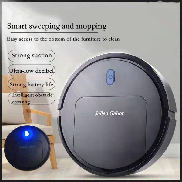 Robot quét nhà thông minh, thiết bị gia dụng lười biếng, máy hút bụi, tùy chỉnh quà tặng ba trong một, máy lau nhà