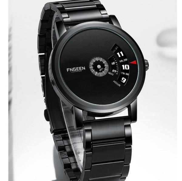 Đồng hồ nam FNGEEN F0230F thiết kế sang trọng Chống nước sinh hoạt rất tốt - Mặt kính Mineral rất trong và chồng trầy sinh hoạt Vỏ và dây làm bằng thép Kiểu dáng năng động và lịch lãm bán chạy