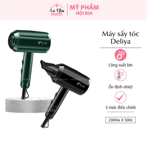 Máy sấy tóc mini Deliya 2 chiều nóng lạnh tạo kiểu tóc 2200W chính hãng- bảo hành 1 năm 1 đổi 1 trong vòng 7 ngày giá rẻ