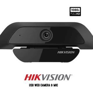Webcam HIKVISION DS-U12 (1920 1080) - Webcam Tích Hợp Míc Siêu Nét 2Mbps - Hàng Chính Hãng thumbnail