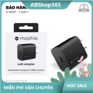 Sạc nhanh Mophie Power Delivery 20W USB-C - Hàng chính hãng - Bảo hành 2 năm abshop thumbnail