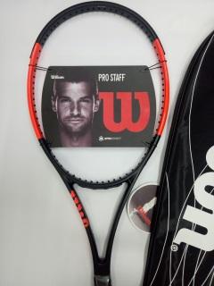 Vợt tennis Wilson 250g- Màu cam - tặng căng cước quấn cán và bao vợt - ảnh thật sản phẩm thumbnail