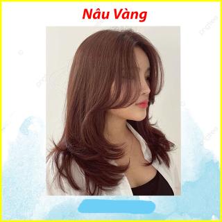 Thuốc nhuộm tóc màu NÂU VÀNG ( tặng kèm oxy trợ nhuộm + găng tay ) thumbnail