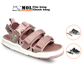 Sandal nữ cao cấp hiệu MOL MS1801Be - Bảo Hành 12 tháng thumbnail