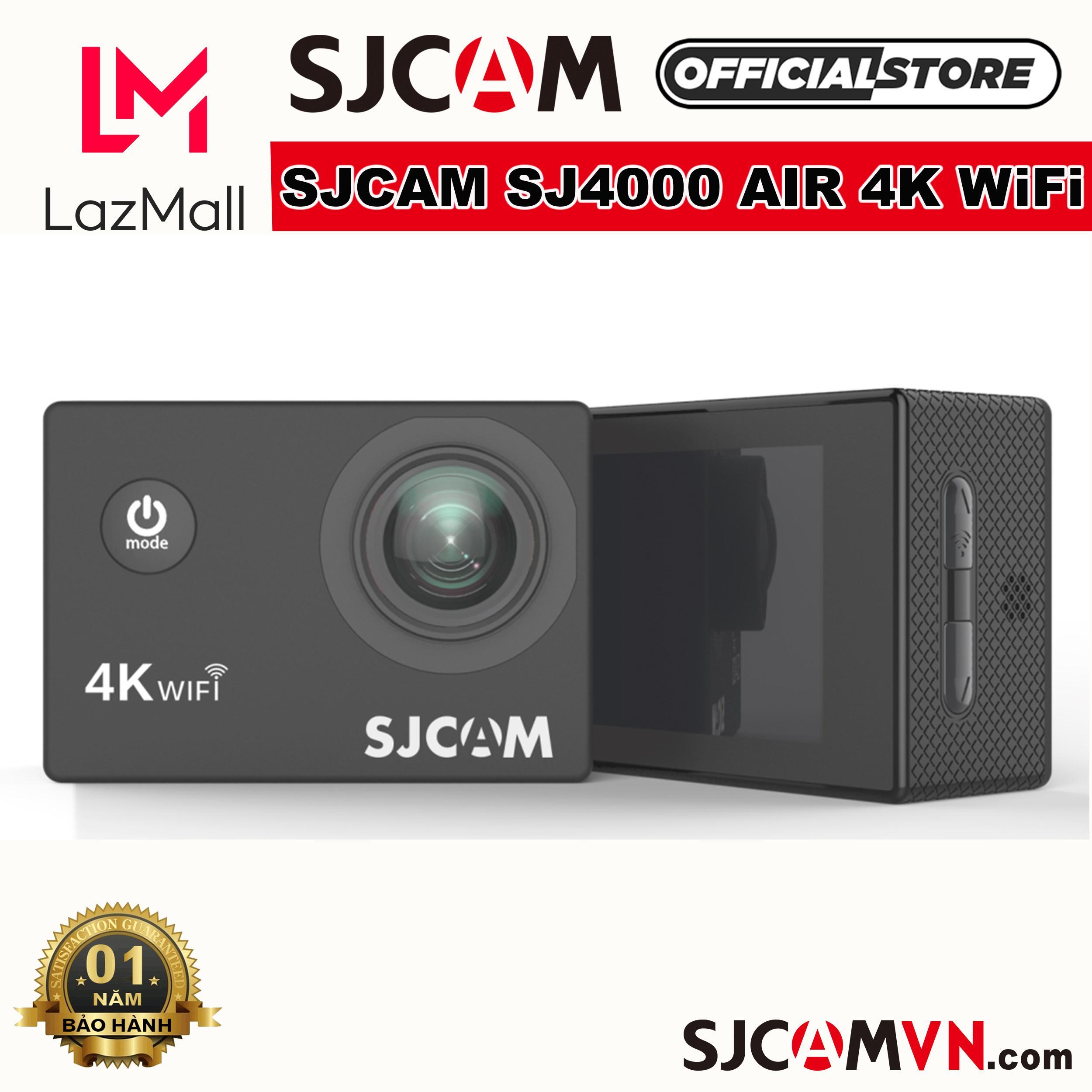 Camera Hành Trình SJCAM SJ4000 AIR 4K WiFi - Hãng Phân Phối Chính Thức Giá Tiết Kiệm Nhất Thị Trường