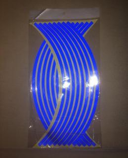 Bộ decan dán phản quang vành xe 3 màu (đỏ,xanh,vàng) thumbnail