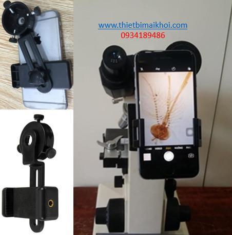 Kẹp điện thoại chụp hình kính hiển vi