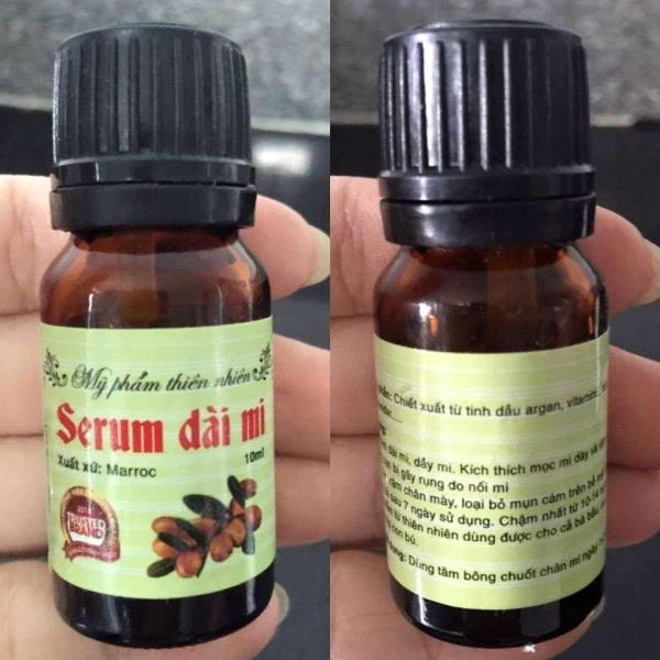 Serum dưỡng mi Maroc giúp dài mi hiệu quả