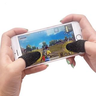 Găng tay chơi game cảm ứng trên điện thoại tiện lợi, chất liệu từ sợi carbon cảm ứng cực nhạy, thiết kế mỏng, thoáng khí tạo cảm giác như đang chơi tay trần thumbnail