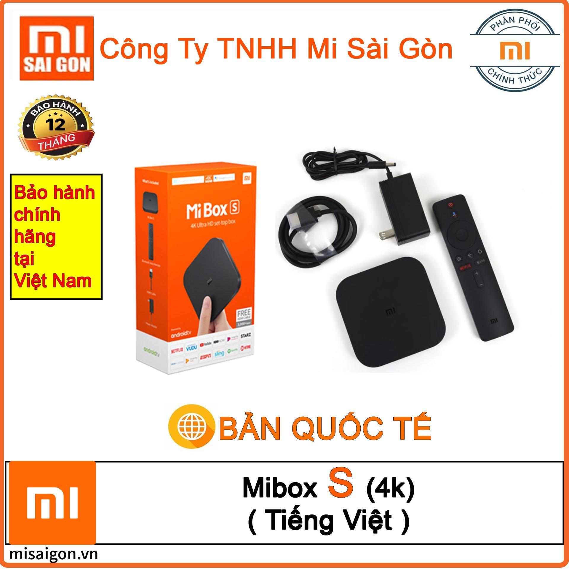 Bảng giá Xiaomi Mibox S (4K) Android Global Tiếng Việt (Digiwolrd phân phối)