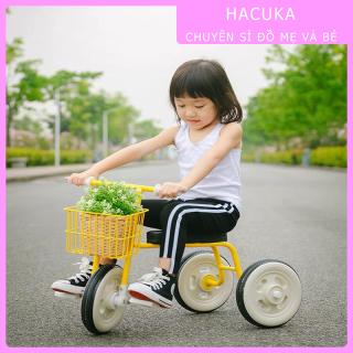 Xe đạp 3 bánh cho bé , xe đạp trẻ em 2 tuổi, 3 tuổi Muji cao cấp, Xe đẩy cho bé thumbnail