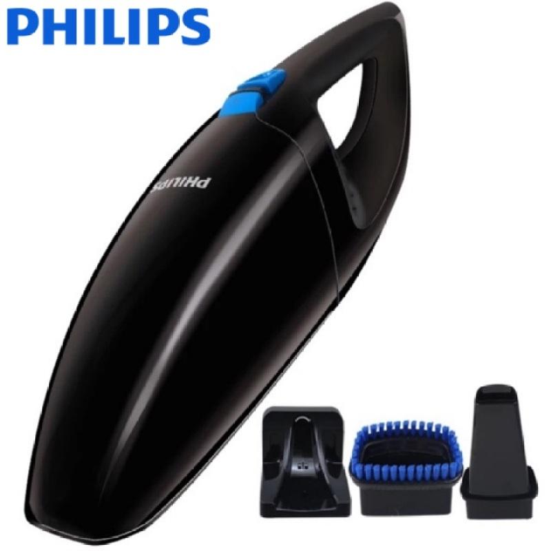 Máy hút bụi ô tô, xe hơi cầm tay không dây cao cấp nhãn hiệu Philips FC6152 công suất 15W 3,6V