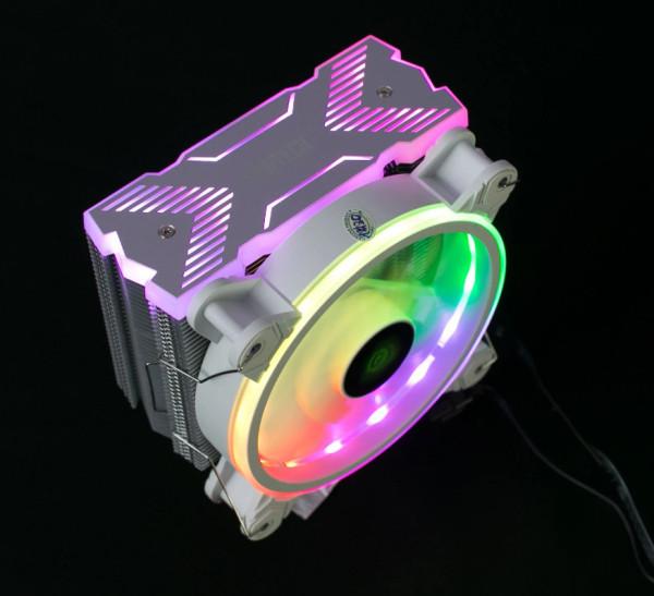 Bảng giá Tản nhiệt khí CPU VSP V400 Plus led RGB Phong Vũ