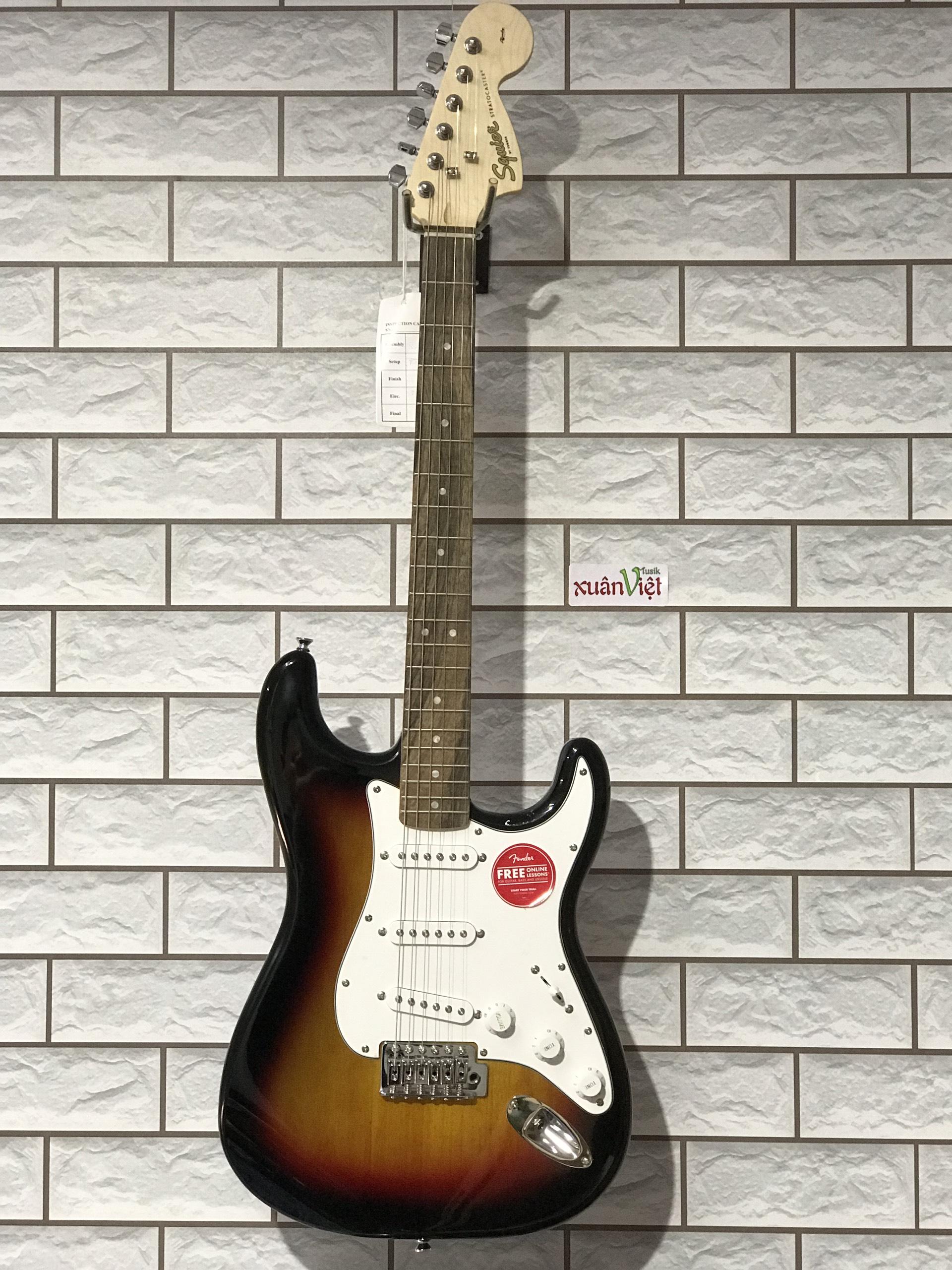Guitar - Guitar Điện - Guitar Điện FSR SQ AFF STRAT LRL 3TS