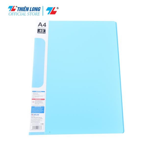Bìa đựng hồ sơ 40 lá sức chứa 200 tờ A4 80 gsm Thiên Long Flexoffice FO-DB008