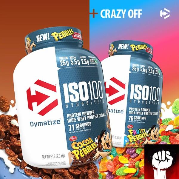 Dymatize Iso 100 5lbs  Sữa Whey Tăng Cơ Giảm Mỡ 2.27kg - Chính Hãng - Muscle Fitness giá rẻ