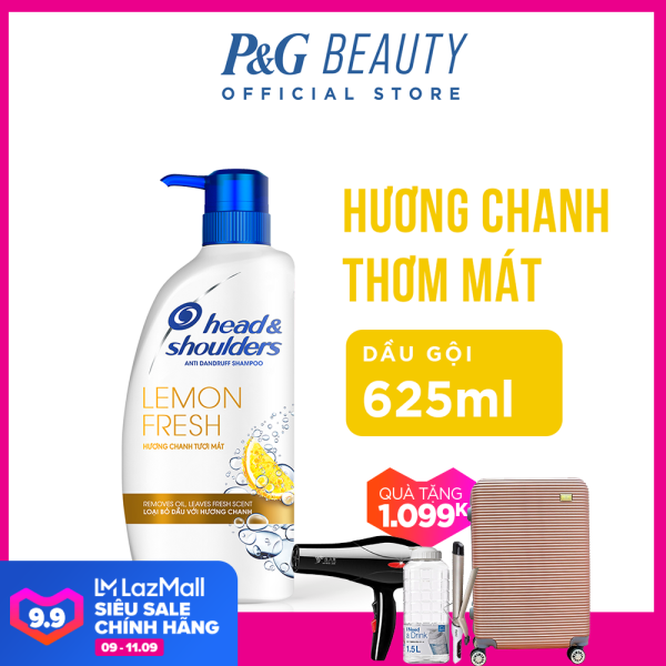 Dầu Gội Head & Shoulders Hương Chanh chai 625ml