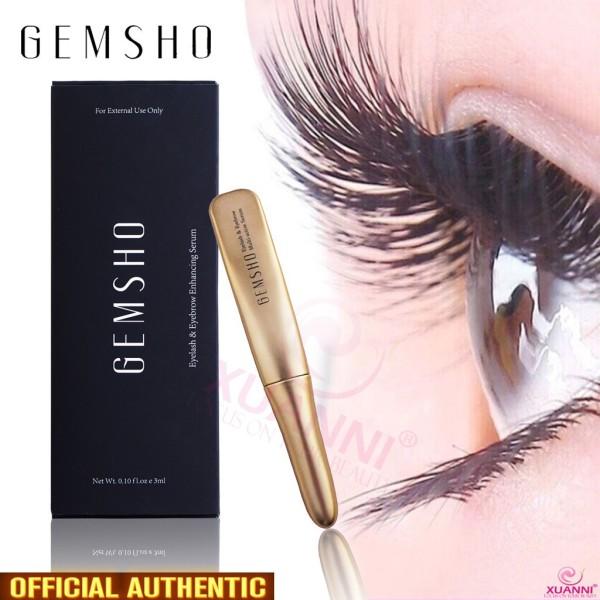 DƯỠNG MI /Serum dưỡng mi Gemsho Eyelash & Eyebrow 3ml của Mỹ giá rẻ