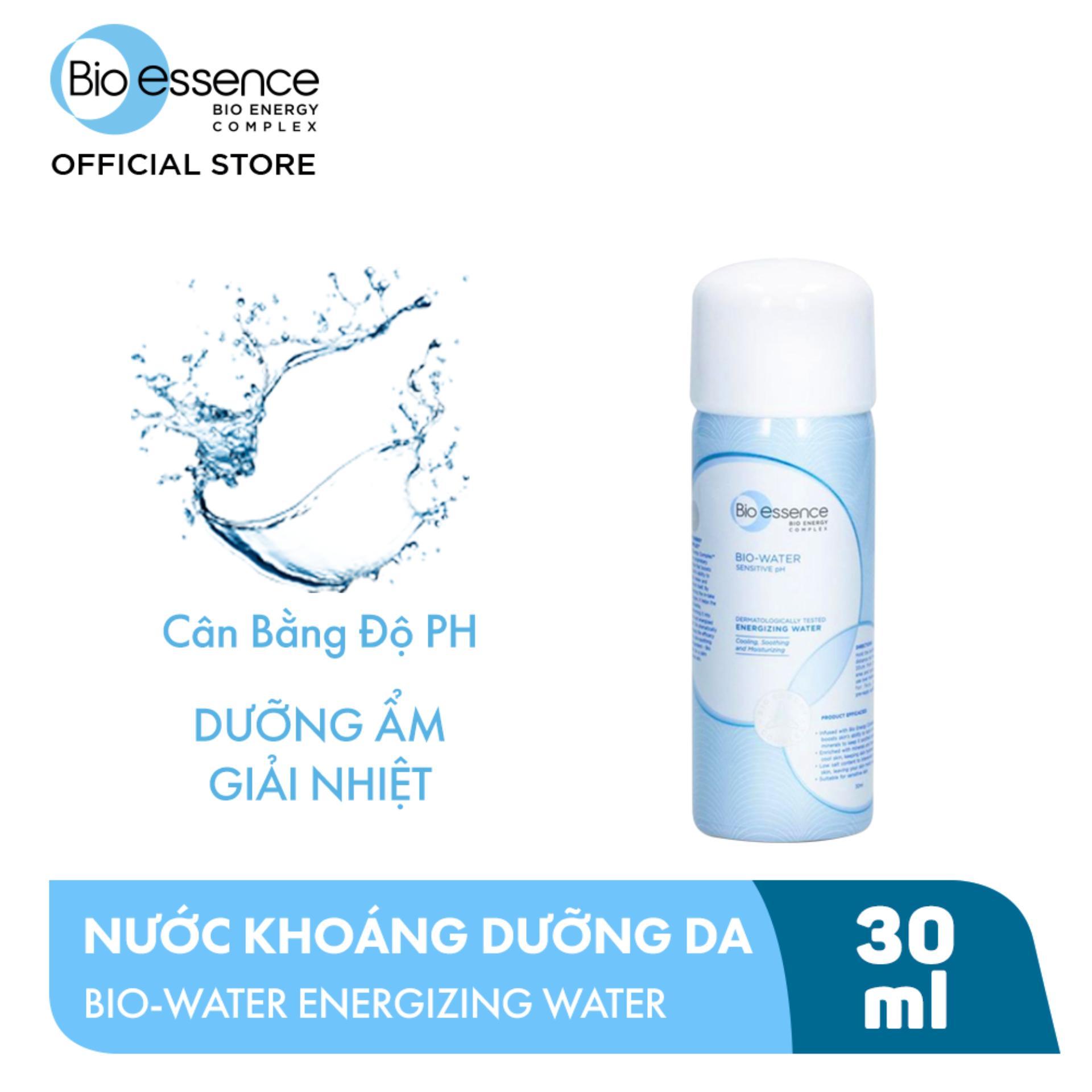 Nước Xịt Khoáng Dưỡng Da Energizing Water Bio-essence 30ml Siêu Tiết Kiệm