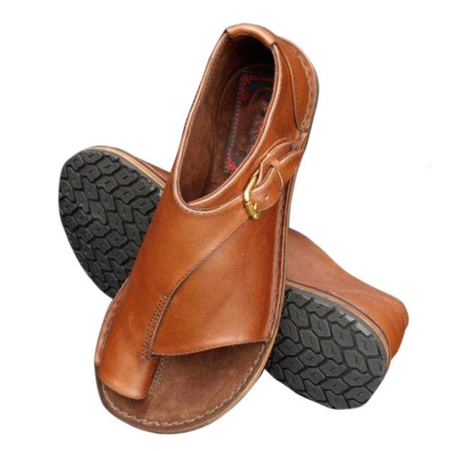 Chắc Chắn Giày Sandal Nữ Hở Mũi Da PU Chỉnh Hình Bunion Corrector Đế Mềm Casual, Mùa Hè Khóa Giày Chân Hiệu Chỉnh Bán giỏi nhấtjkjk giá rẻ