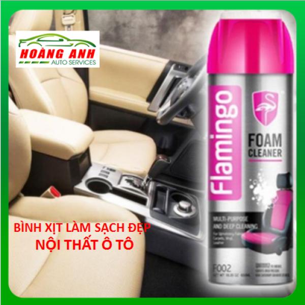 Bình Xịt Làm Sạch Xe ô tô Đa Năng Dạng Bọt Flamingo 650ml - Nội Thất Gia Đình  Vệ Sinh NộiThất Xe Hơi