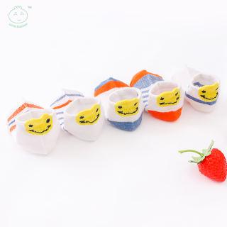 Vớ cotton Little Dimsum YEW in hoạt hình dễ thương thích hợp cho trẻ em 0-6 tuổi (5 cặp) - INTL