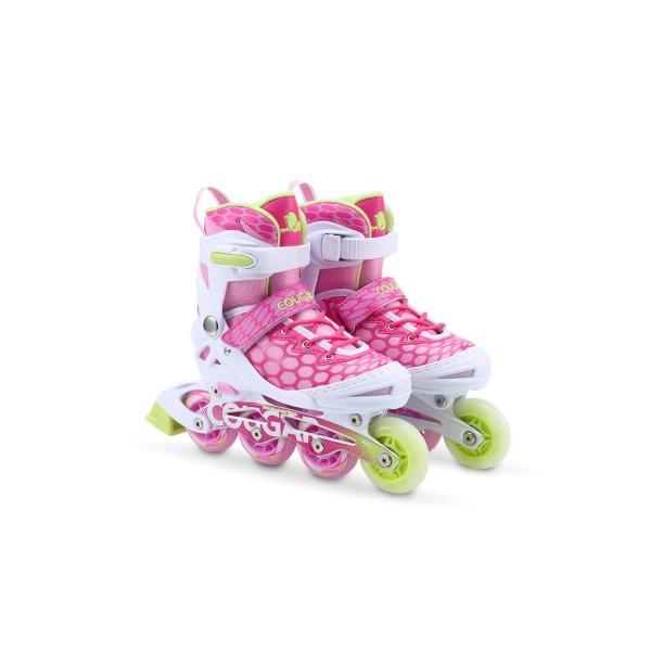 Phân phối Giày trượt patin Cougar cao cấp màu hồng 767