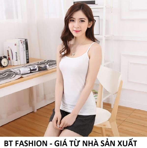Áo Thun Nữ Coton Hai Dây Thời Trang BT Fashion (TC)