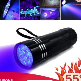 Đèn pin tia UV siêu sáng mini (Đen) thumbnail